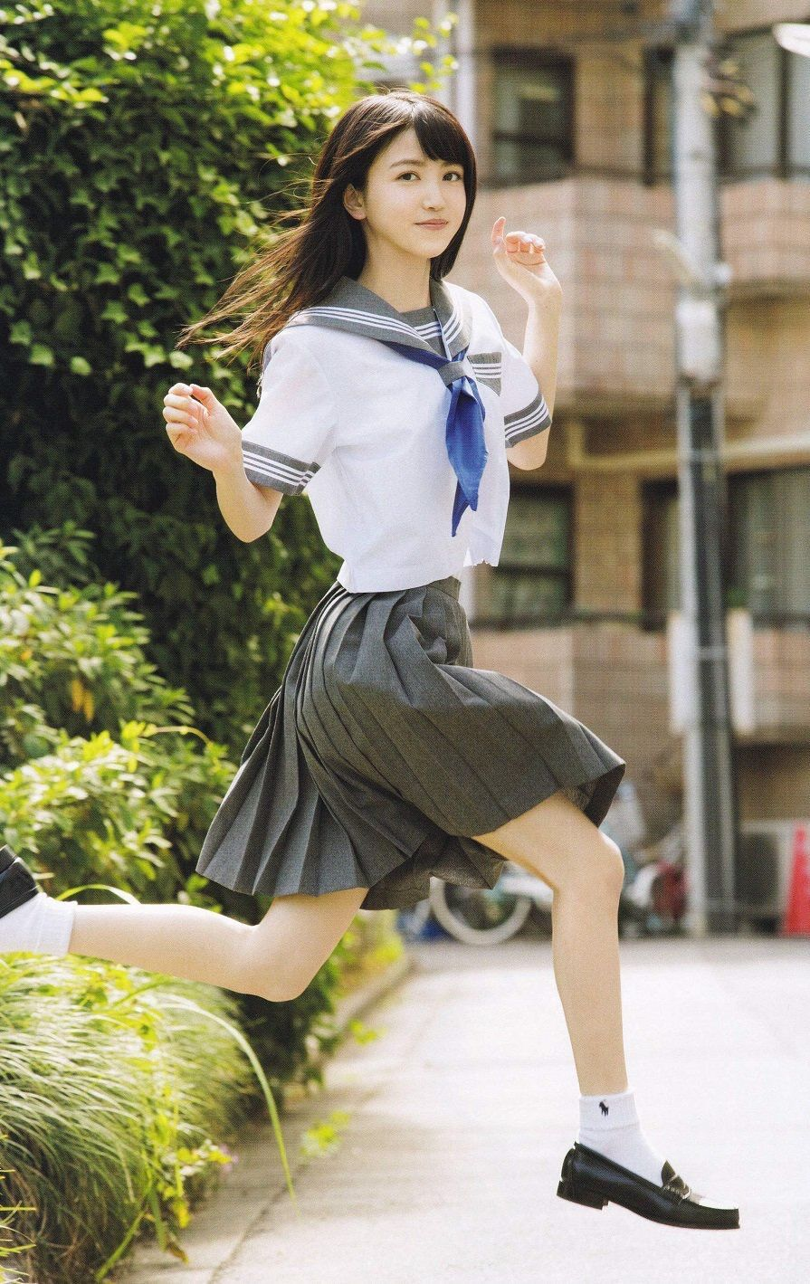 Japanese School Girl Stock Photos, Pictures & Royalty-Free