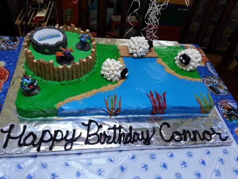 Skylanders Birthday Cake Push Pin Boards Pinterest Skylanders