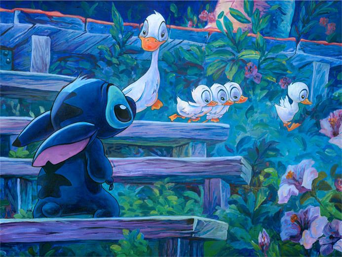 Disney Art on Main Street at Alexander's Fine Art - First Steps, $0.00 (http://www.disneyartonmain.com/first-steps/)