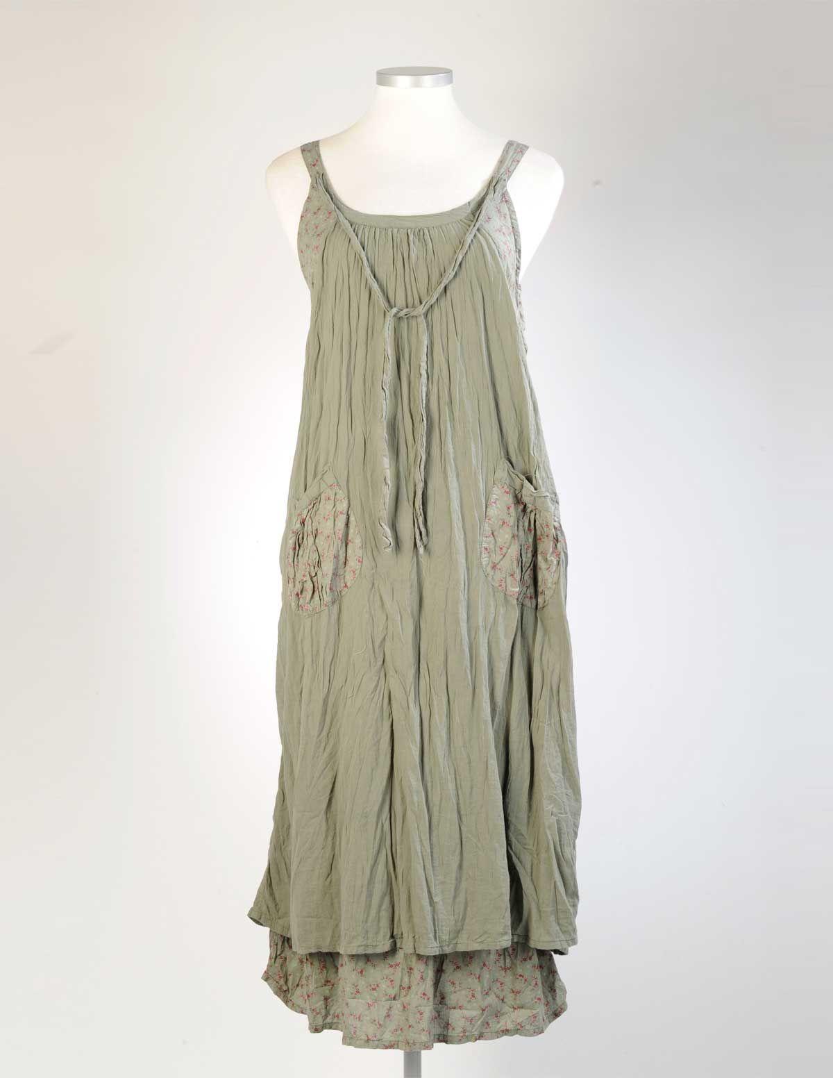 HETEROCLITE  Langes Lagenlook-Kleid  navabi  Flapper dress