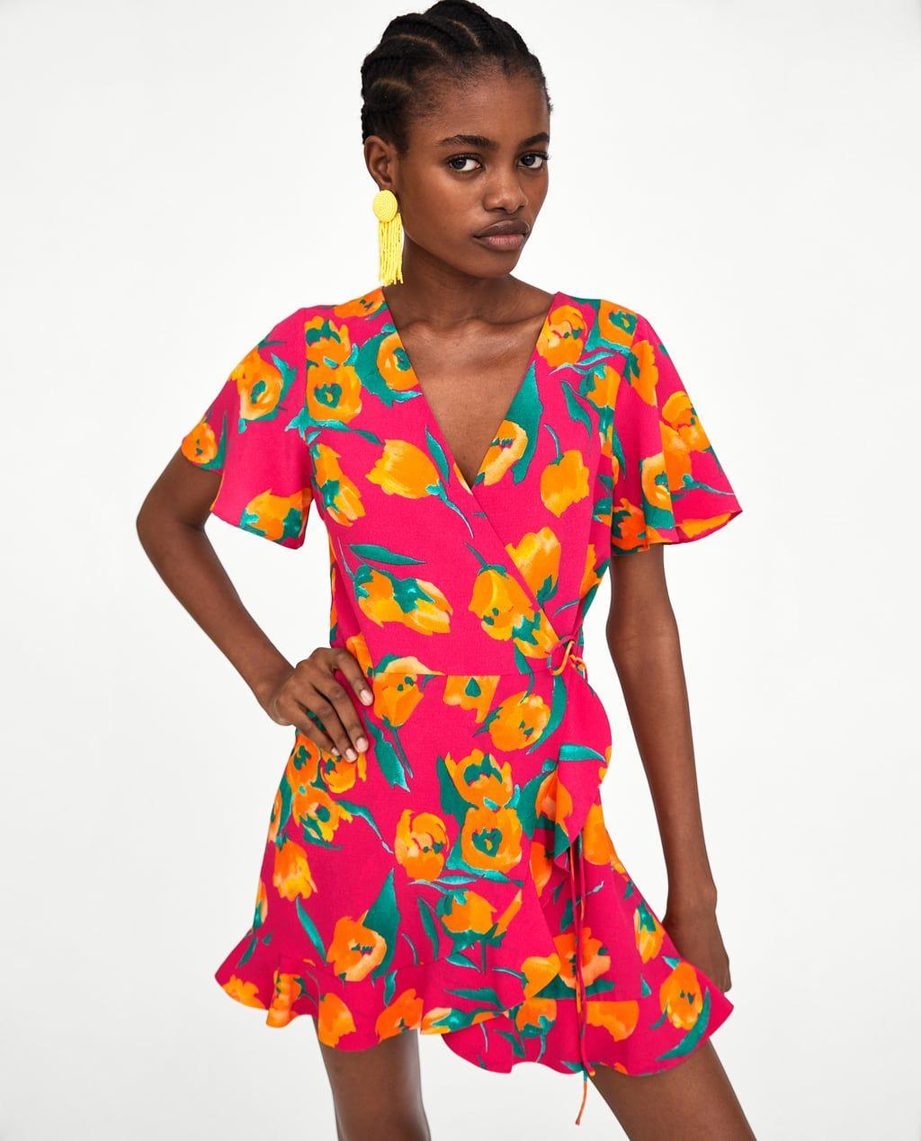 2f5e731f9 Frilled Jumpsuit Dress Zara Uk – DACC