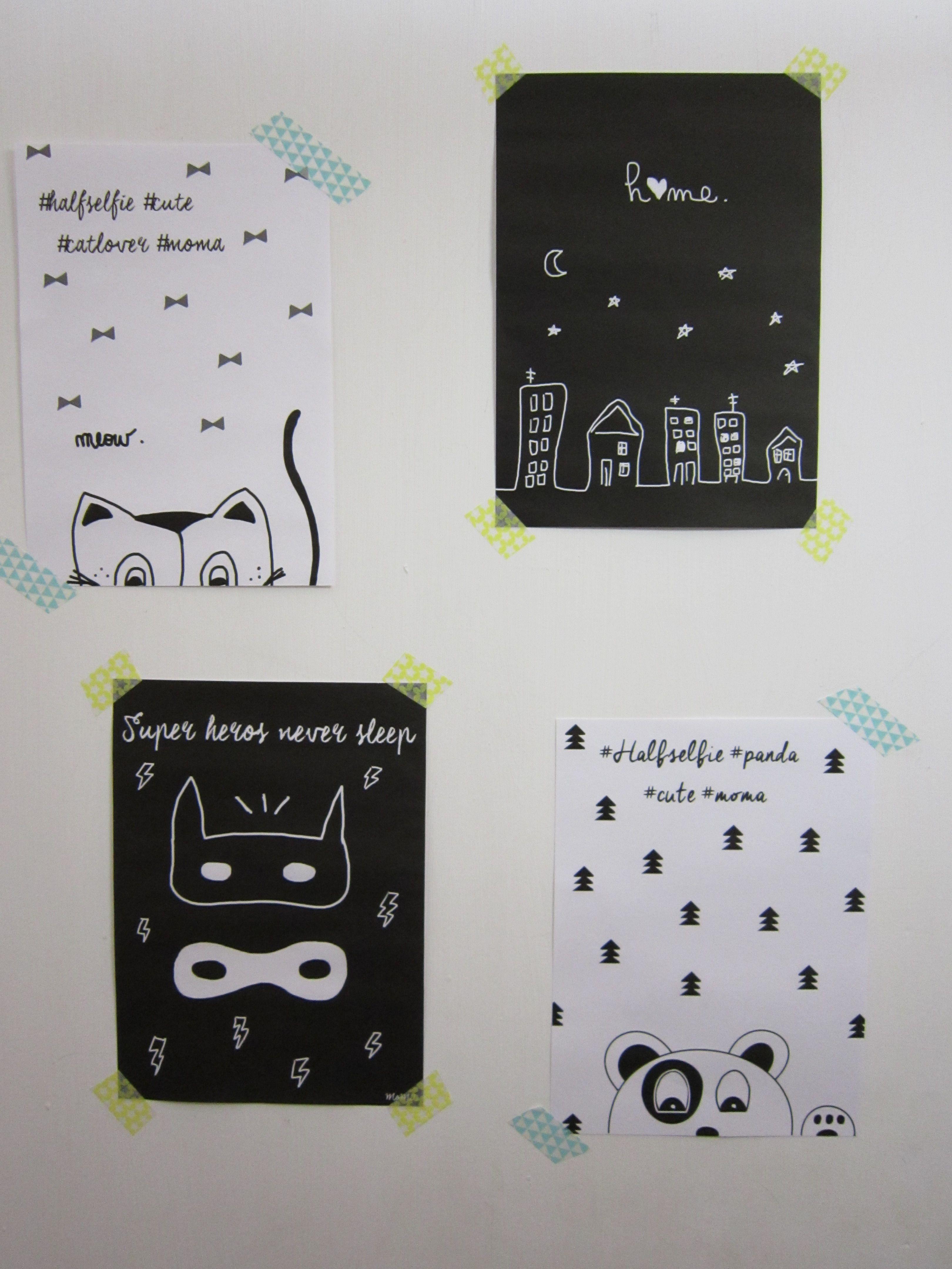 Free printable Un poster d halloween et des surprises