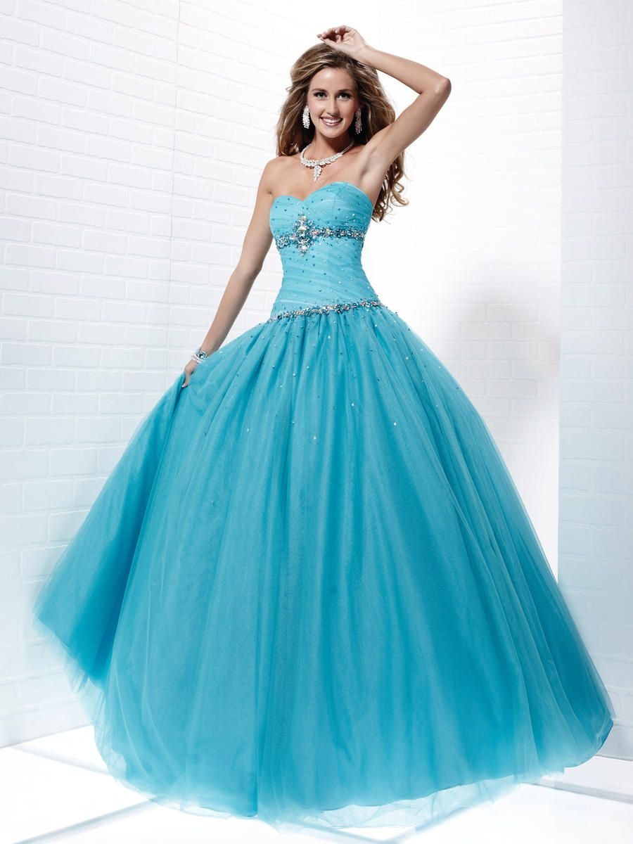Formal dresses tulle blue formal prom gowns online from