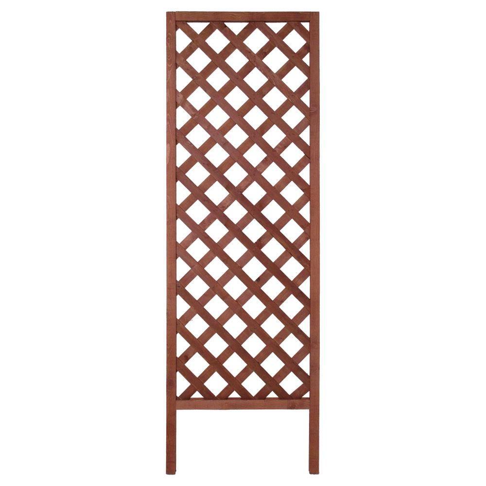 Outdoor Essentials 72 In Wood Diamond Lattice Trellis 352779 The Home Depot Lattice Trellis Outdoor Panels Trellis