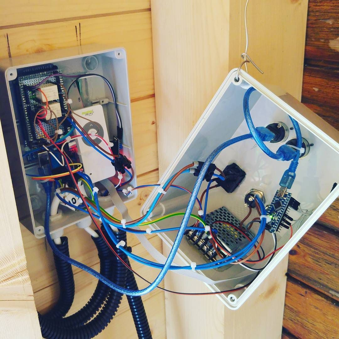 hight resolution of finished the wiring of my new garage opener automatic only the programming left arduino 3dprint 3dprinters 3dprinting 3dprinter reprap prusai3