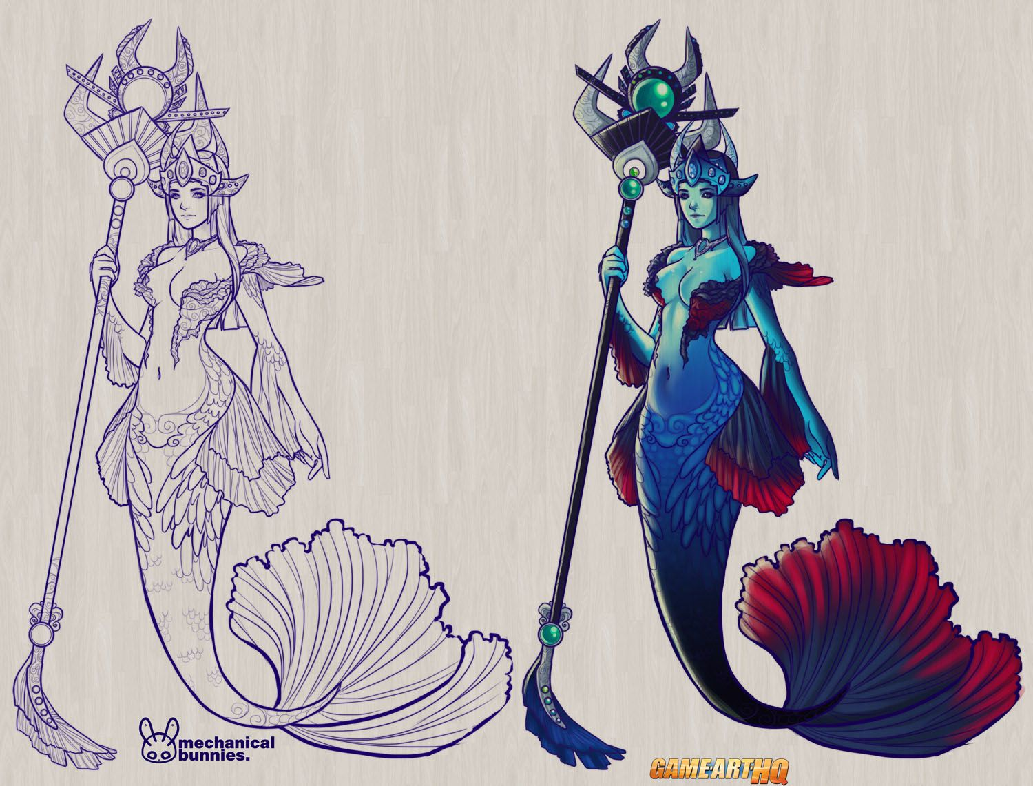 Nami the tidecaller from league of legends nami betta for Betta fish game