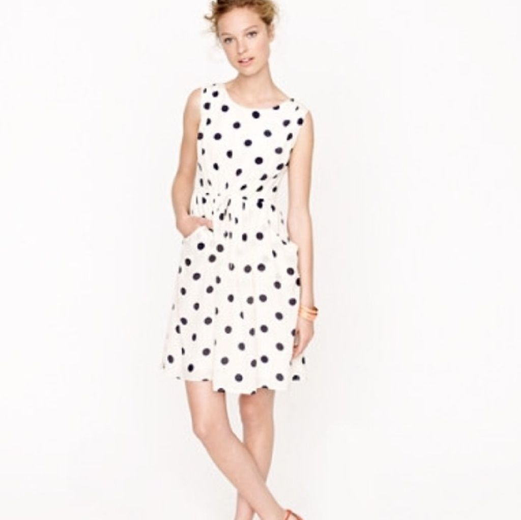 J crew scatter dot dress products