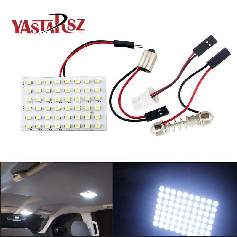 48 LED Auto Car Dome Festoon Interior Bulb Roof Light Lamp with T10 ...