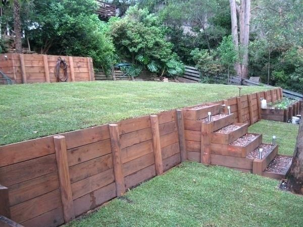 Image result for best retainer walls Back yard ideas in 2018