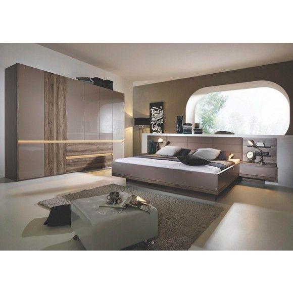 Komplettes Schlafzimmer von NOVEL Verändert nicht nur Ihren - schlafzimmer creme braun schwarz grau