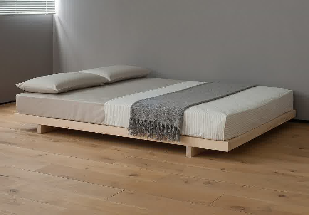 Best Decorating Beds Without Headboards Platform Bed Designs 400 x 300