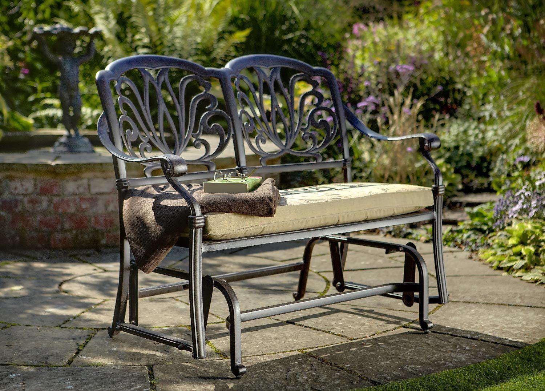 Hartman Amalfi Glider Garden Garden Furniture Metal