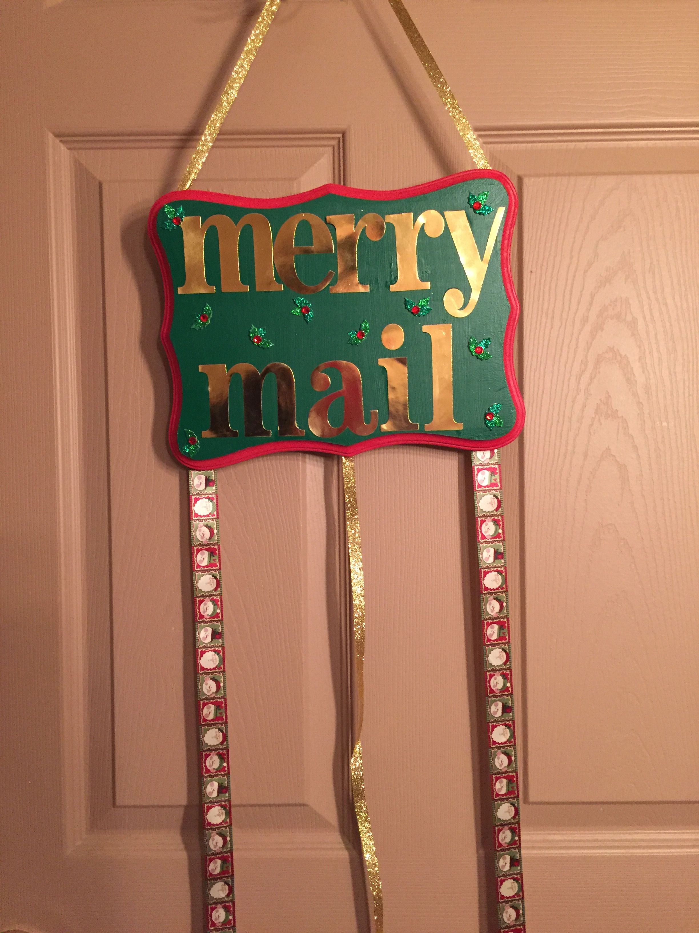 Christmas card hanger   Made by Holly   Pinterest
