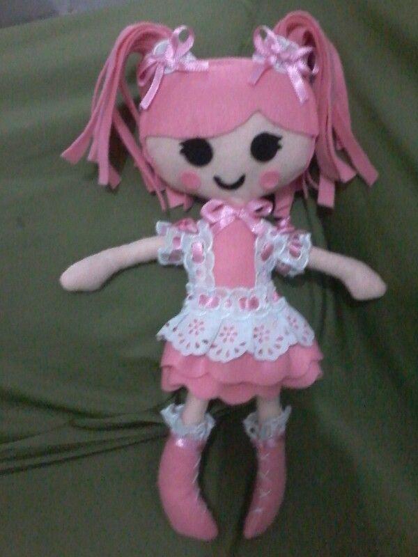 Boneca da lalaloopsy
