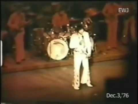 Elvis Presley - December 3 1976, Las Vegas (dinner show) - YouTube