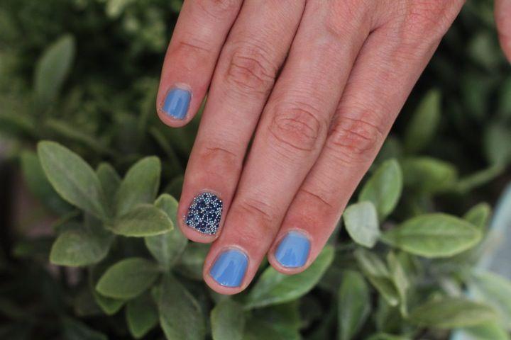 Video + Review: 3D Nail Toppings Bourjois. Lilac Sand, Maliblue and Coral Bikini Nail Caviar