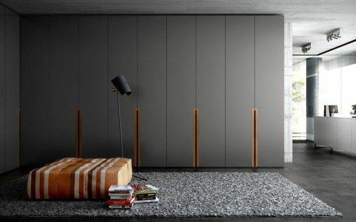 Les Portes De Placard On Vous Donne 45 Idees En Photos Placard Design Porte Placard Et Placard