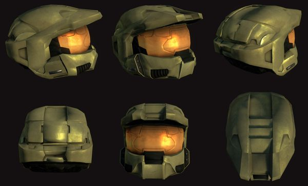 Halo 3 Master Chief Helmet On Behance Master Chief Halo