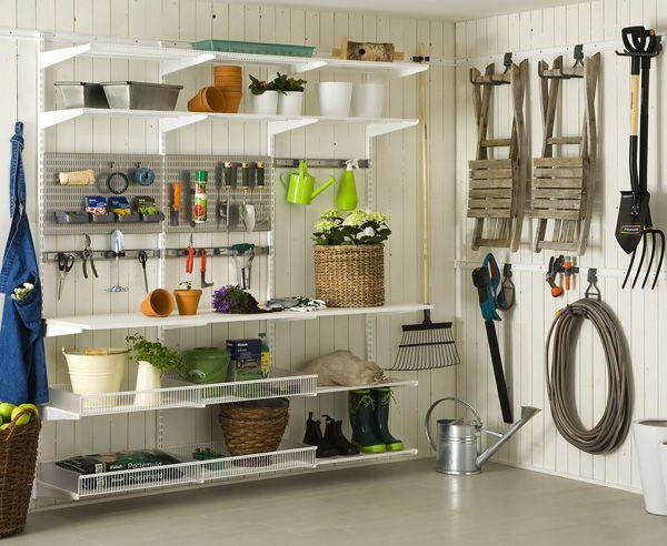 stauraum f r die garage richtig verstauen und lagern aufh ngen stauraum und haken. Black Bedroom Furniture Sets. Home Design Ideas
