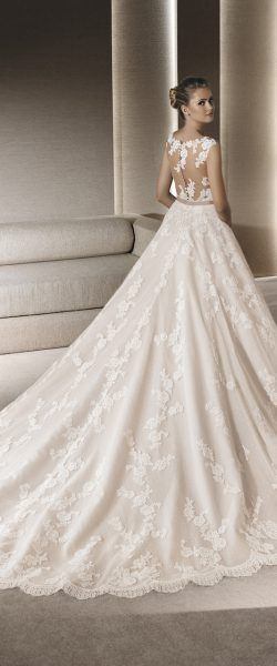 LaSposa41 | Rückenausschnitt tiefer Rücken Brautkleid Hochzeitskleid ...