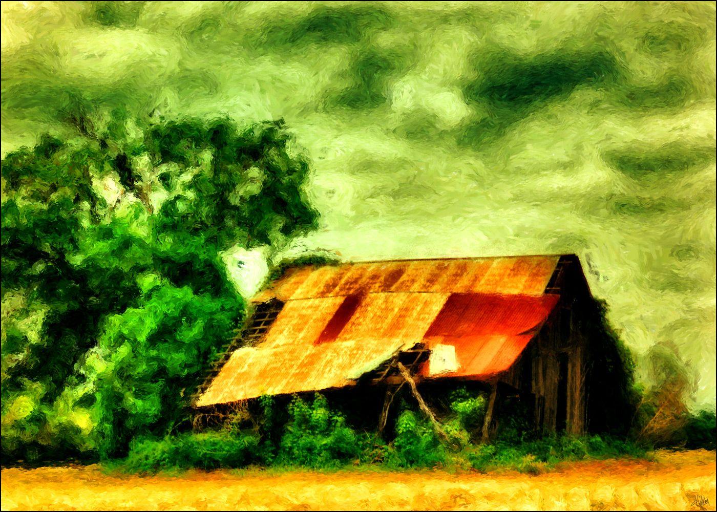 Dennis Fehler - An old barn near Mother Neff State Park.
