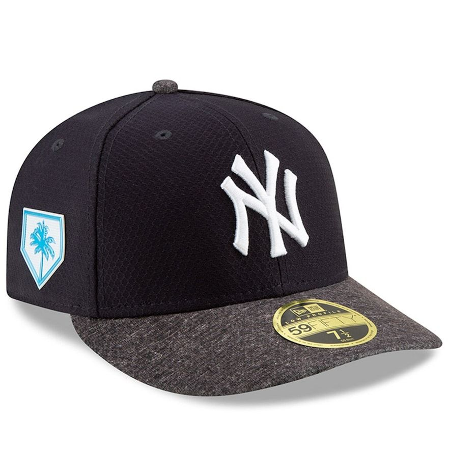 Heather Grey//Navy Jersey Team New Era New York Yankees 59FIFTY Basecap