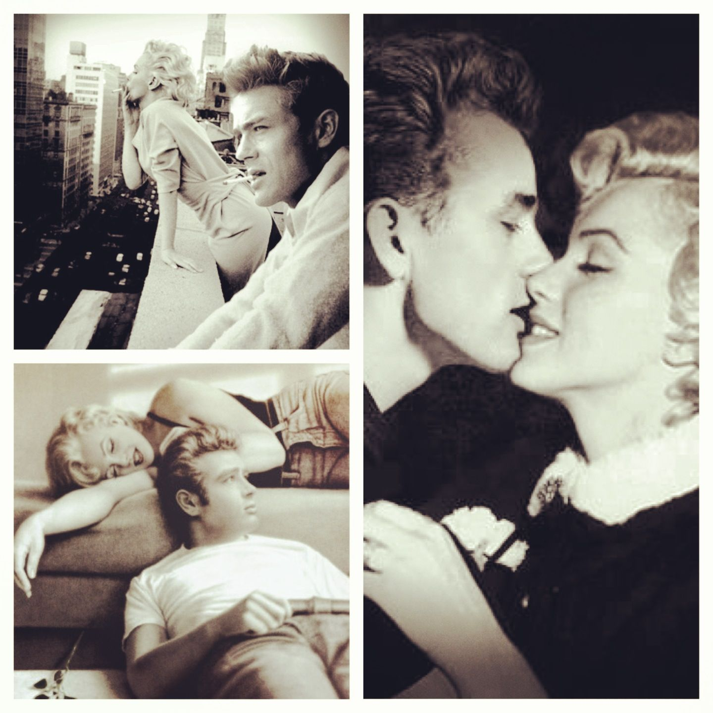 James Dean Marilyn Monroe Photo Manipulation By Brailliant
