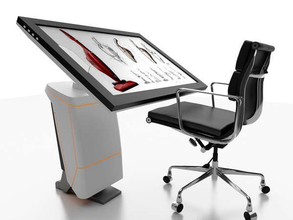 Digital Drafting Tables - The iSpace Workstation Replaces Physical Drawing Tools with Virtual Ones…