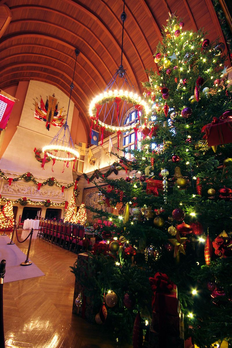 #christmas #biltmore House 2012 Banquet Hall