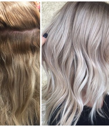 From Dark To Light Sand Beige Blonde Hair Transformation From Hair By Salah Beigeblonde Beige Blonde Hair Blonde Hair Transformations Hair Transformation