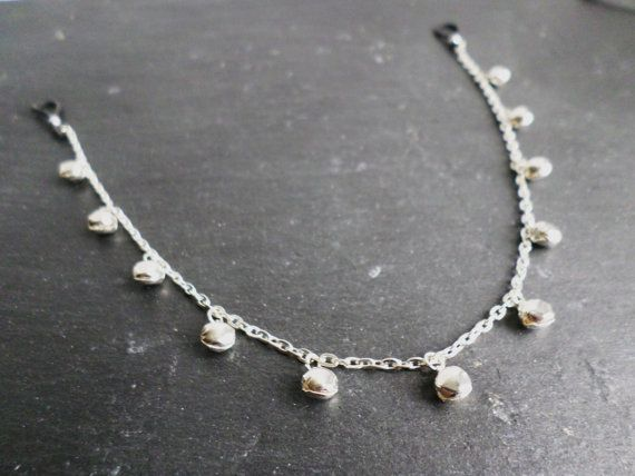 Silver Bell Nipple Chain Non piercing Intimate by SerenityInChains
