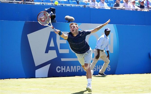 Dan Evans Bows Out In Second Round At Queen S Club To South African Kevin Anderson With Images Dan Evans Kevin Evan