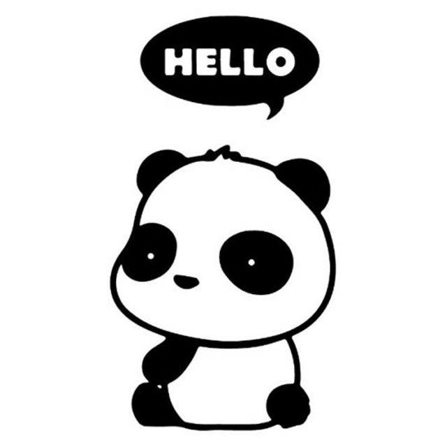 Картинки по запросу cartoon panda | Vinyl | Pinterest