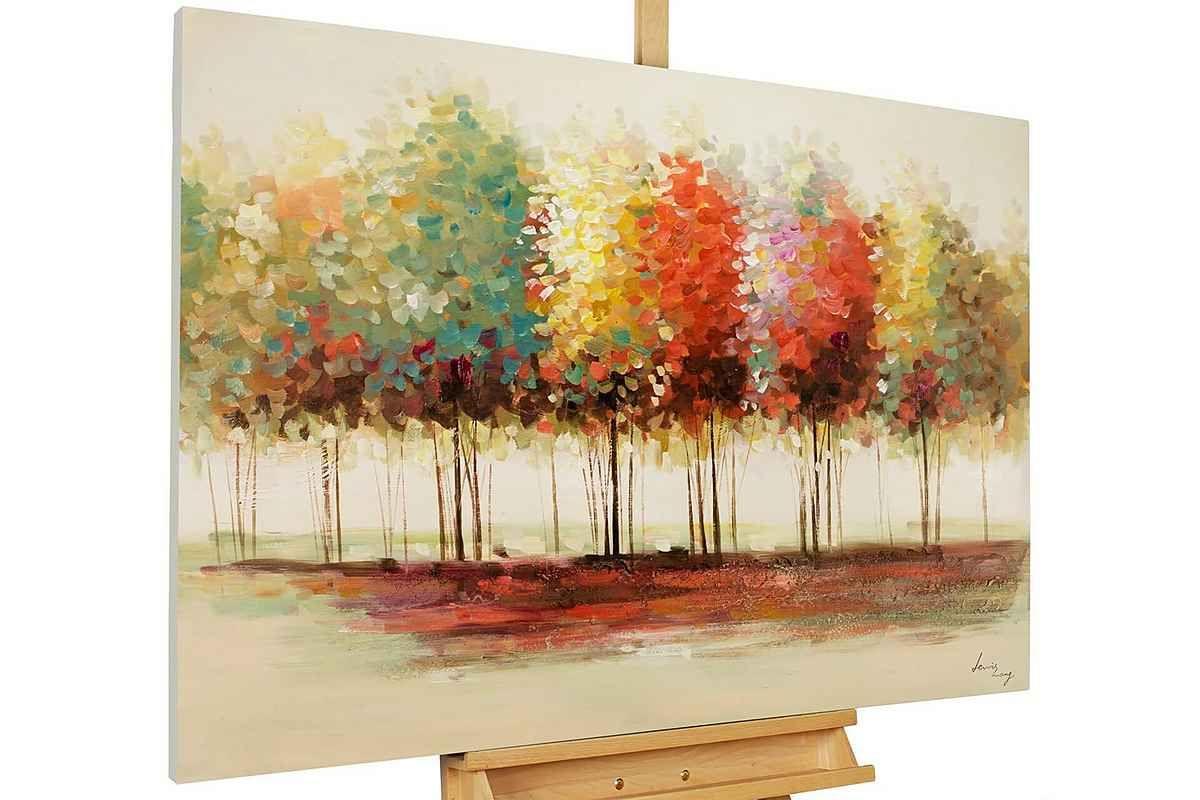 kunstloft gemalde gradient handgemaltes bild auf leinwand online kaufen otto bilder ein 60x80