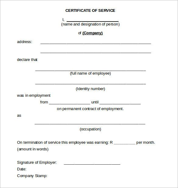 Certificate Templates Can Be Used In Offices For Achievement