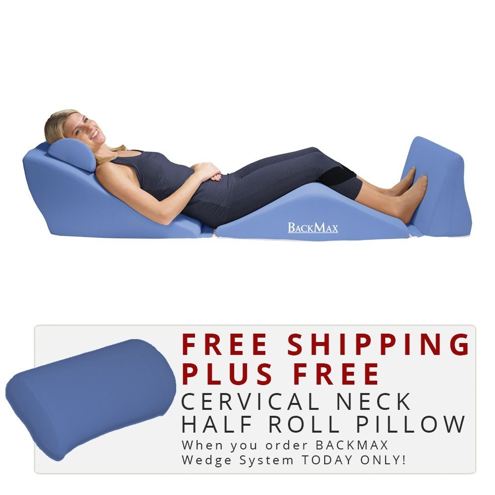 Backmax Foam Bed Wedge Body Cushion Body Cushion Neck Support Pillow Foam Bed