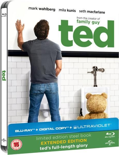 Ted Limited Edition Steelbook (+ Digital & UltraViolet Copies) Blu-ray £4.99 FREE DEL at Zavvi