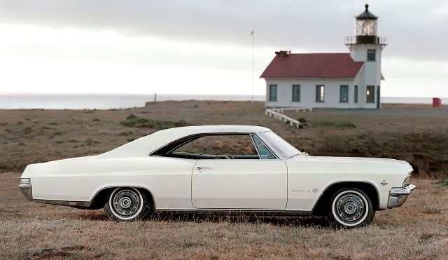 1965 Chevy Impala Mine Was A 4 Door Gosh She Was Pretty With