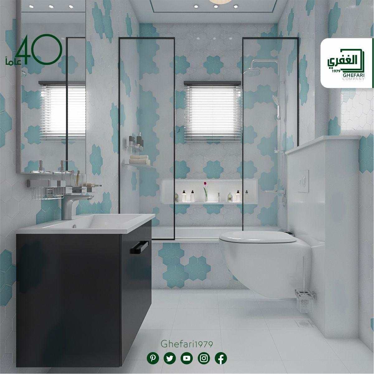 ديكور سداسي للاستخدام داخل الحمامات المطابخ اماكن اخرى للمزيد زورونا على موقع الشركة Https Www Ghefari Com Ar Joker Niza وا Corner Bathtub Bathtub Bathroom