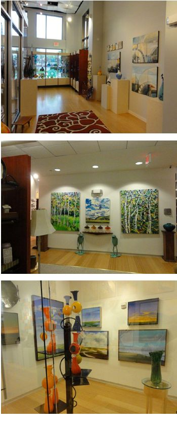 Red Sky Gallery on Elizabeth Ave...just went yesterday, such cool stuff! Free to check out great local art!