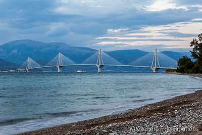 Rio-Antirrio Bridge, Greece