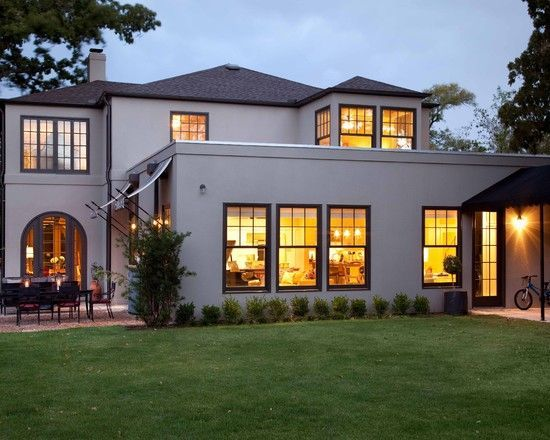 Lovely Image Result For Cream Stucco With Black Trim