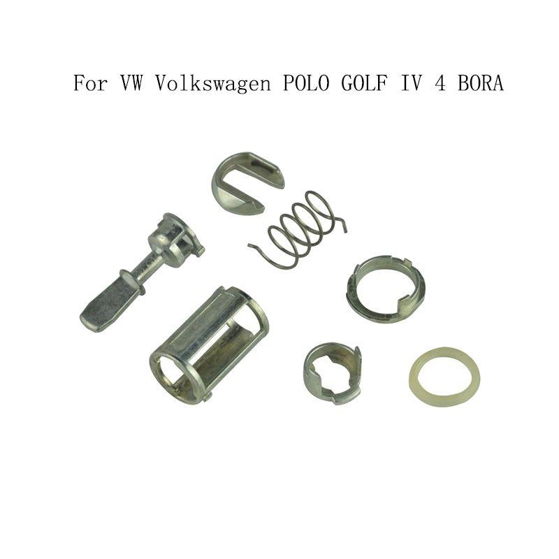 For Vw Polo Golf Iv 4 Bora Car Door Lock Cylinder Barrel Repair Kit Front Left Right 1u0837167e Car Door Lock Vw Mk4 Volkswagen Polo