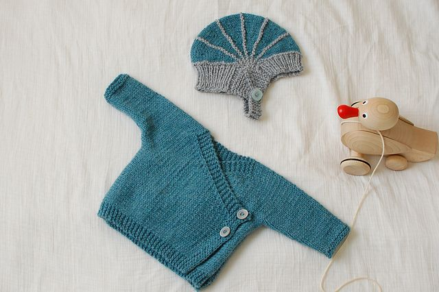 41537ddaae8a16 Ravelry  Project Gallery for Baby Kimono pattern by Elizabeth Jarvis