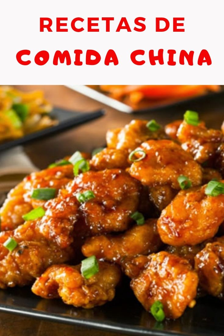 7 Recetas de comida china