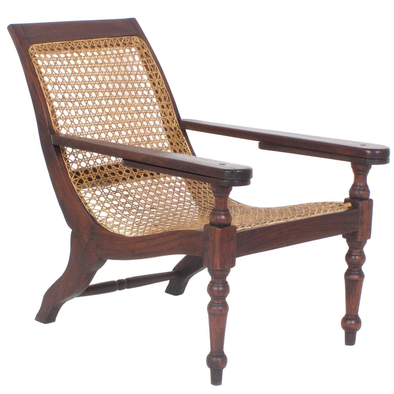 Rare British Colonial Antique Child's Campaign Plantation Chair 1 - Rare British Colonial Antique Child's Campaign Plantation Chair