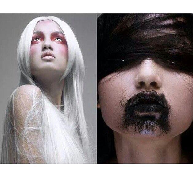 Photoshoot make-up