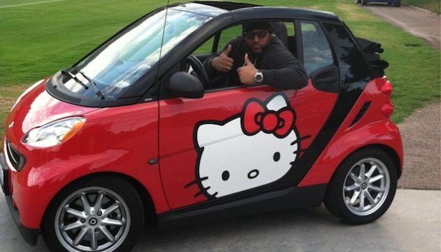 Hello Kitty Car Wrap Signs Vehicles Wraps Hello Kitty Car