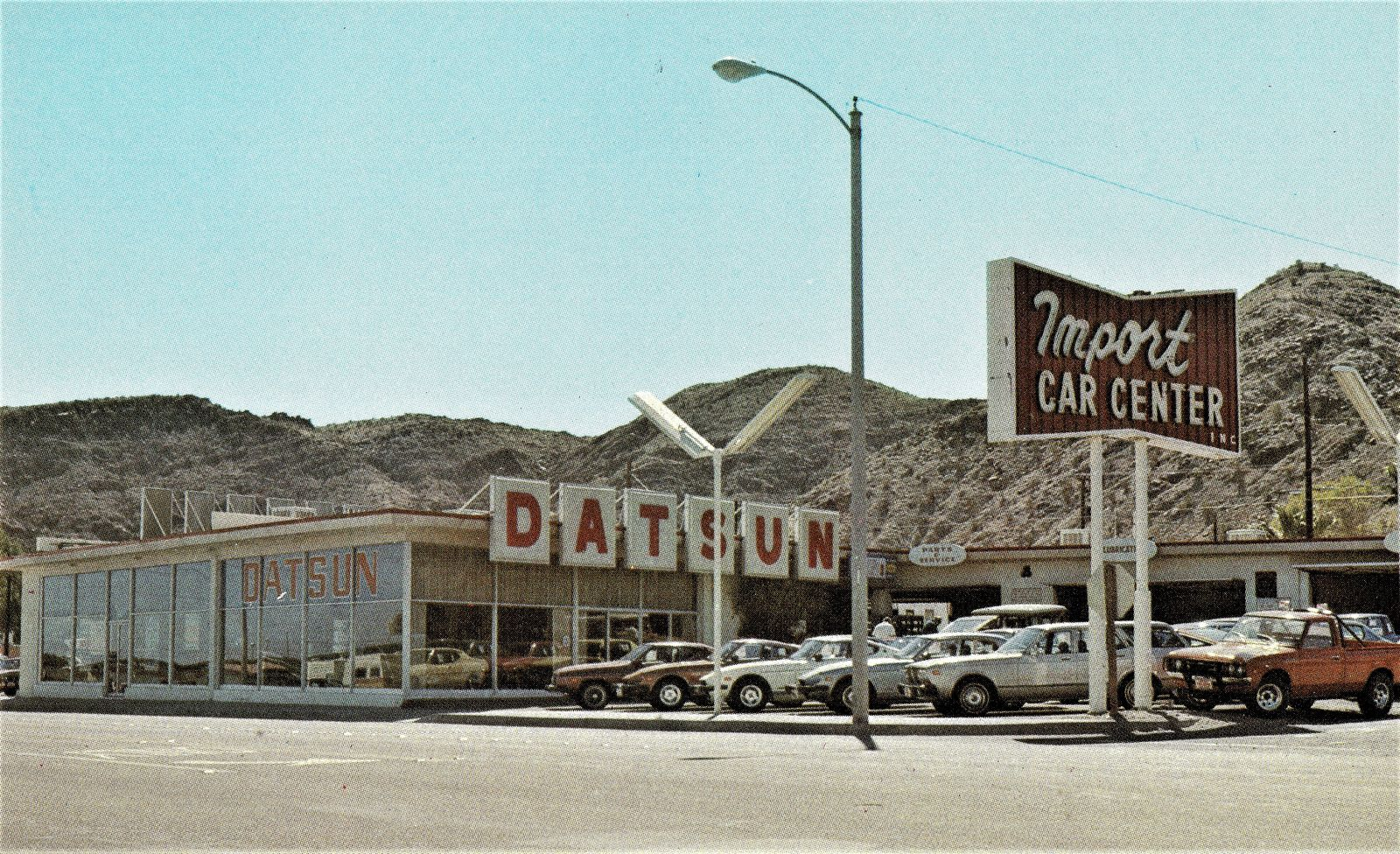 1970 S Import Car Center Datsun Dealership Cathedral City