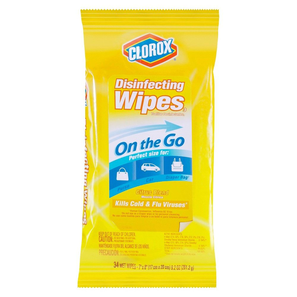Clorox Citrus Blend Disinfecting Wipes 34ct Disinfecting Wipes